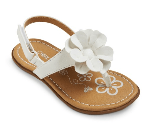 white-sandals-target