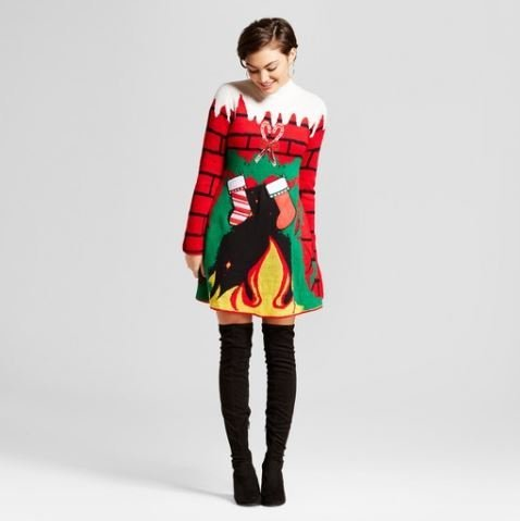 4 Affordable Christmas Sweater Dresses Mommy Lounge
