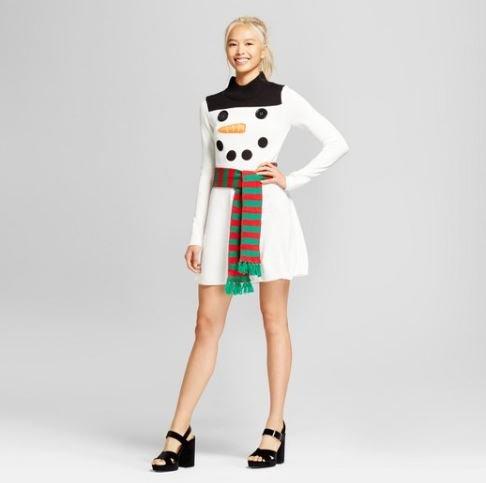 Snowman Dress
